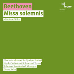 Beethoven: Missa Solemnis for Soloists, Choir, Orchestra and Organ Op. 123
