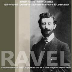 Ravel: Piano Concerto for the Left Hand in D Major etc.