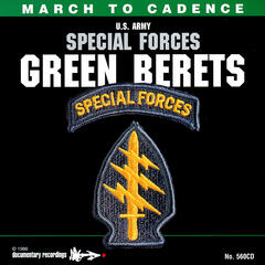 March to Cadence With the U.S. Army Special Forces Green Berets