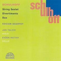 Schulhoff : Divertimento, String Sextet, Duo / Chamber Works Vol. 2