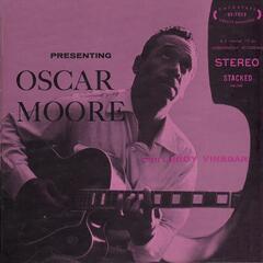 Presenting Oscar Moore with Leroy Vinegar