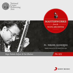 From the NCPA Archives - Nikhil Banerjee