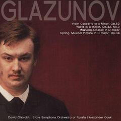 Glazunov: Violin Concerto in A minor, Op.82, etc.