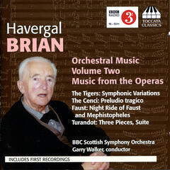 Brian: Orchestral Music, Vol. 2
