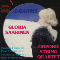 Brahms: Quintet in F Minor - Handel: Variations and Fugue on a Theme
