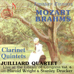 Juilliard Quartet Vol. 6 - Live at the Library of Congress