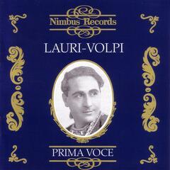 Prima Voce - Lauri-Volpi