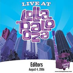 Live at Lollapalooza 2006: Editors