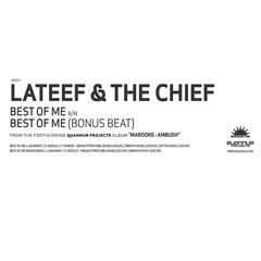 Best Of Me / Best Of Me Bonus Beat 12""