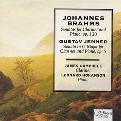Brahms and Jenner Works for Clarinet