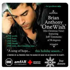 "ONE WISH (This Christmas Time)"" feat. Jeff Timmons (Charity Holiday Bundle)"