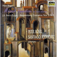 "Max Reger: ""Mozart"" Variations For Two Pianos; Bach-Reger: Brandenburg Concertos 3 & 5 for Two Pianos"
