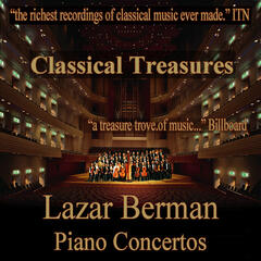 Classical Treasures: Lazar Berman - Piano Concertos