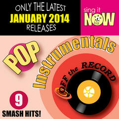 Jan 2014 Pop Hits Instrumentals