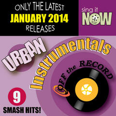 Jan 2014 Urban Hits Instrumentals