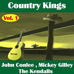 Country Kings , Volume One - Conlee, Gilley, The Kendalls