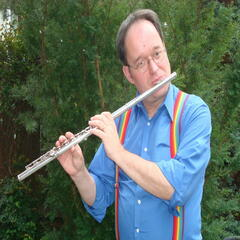 Music For Two Flutes, All Flute Parts Are Performed By Klaus Liebetanz