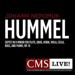 Hummel: Septet in D minor for Flute, Oboe, Horn, Viola, Cello, Bass, and Piano, Op. 74