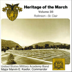 Heritage of the March, Vol. 38: The Music of Rollinson and St. Clair