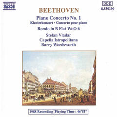 Beethoven: Piano Concerto No. 1 / Rondo in B Flat Major