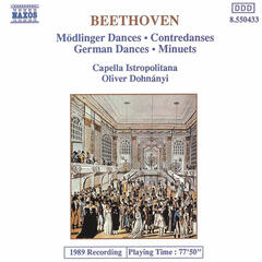 Beethoven: 11 Modlinger Dances / 12 German Dances / 12 Minuets