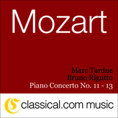 Wolfgang Amadeus Mozart, Piano Concerto No. 11 In F Major, K. 413