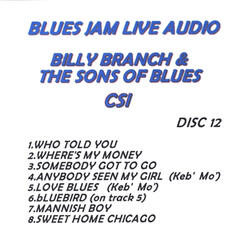 Blues Jam Live Audio: Billy Branch & The Sons Of Blues