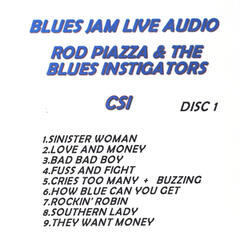Blues Jam Live Audio: Rod Piazza & The Blues Instigators