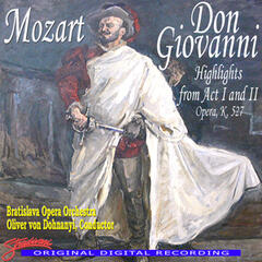 Mozart: Don Giovanni, Highlights From Act I & II