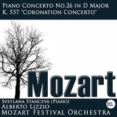 "Mozart : Piano Concerto No.26 in D Major K. 537 ""Coronation Concerto"""