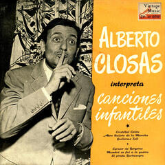 "Vintage Children's Nº 01 - EPs Collectors ""Alberto Closas Interpreta Canciones Infantiles"""