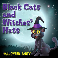 Black Cats and Witches' Hats Halloween Party