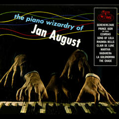 The Piano Wizardry Of Jan August