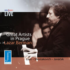 Great Artists in Prague - Lazar Berman