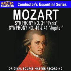 Mozart: Symphony No. 31, 40 & 41