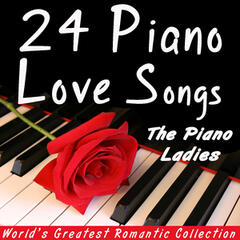 24 Piano Love Songs - Romantic Collection