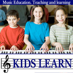 Kids Learn. Music Education. Teaching And Learning