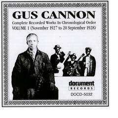 Gus Cannon Vol. 1 (1927 - 1928)