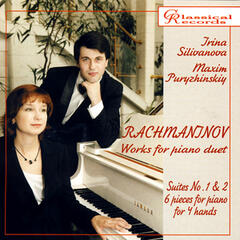 Rachmaninov. Works for piano duet