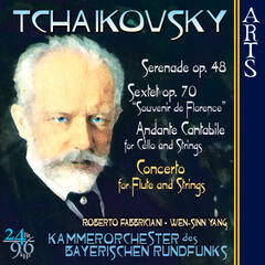 Tchaikovsky: Music for Strings - Flute Concerto