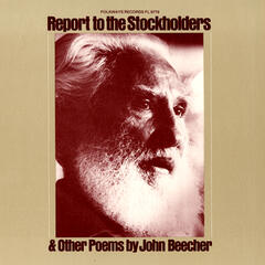 Report to the Stockholders: Poems by John Beecher
