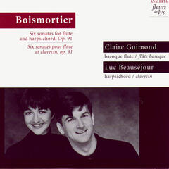 Six sonatas for flute and harpsichord, Op.91 (Boismortier)