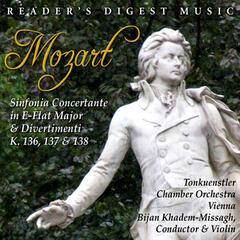 Mozart: Sinfonia Concertante in E-Flat Major & Divertimenti K. 136, 137 & 138