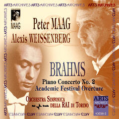 Brahms: Piano Concerto No. 2 & Academic Festival Overture