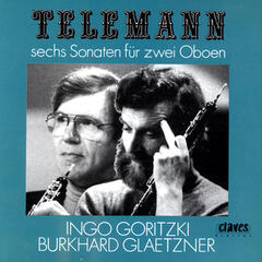 Telemann/ Six Sonatas For Two Oboes
