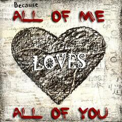 Because All of Me Love's All of You (Tribute to John Legend, Pitbull, Aloe, Kesha, Katy Perry, Christina Black & Jason Derulo)