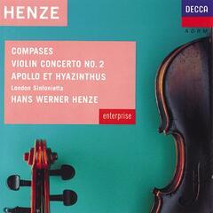 Henze: Compases; Violin Concerto No.2 etc