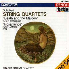 "Schubert: String Quartets ""Death and the Maiden"" & ""Rosamunde"""