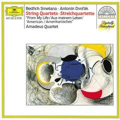 """Smetana: String Quartett No.1 """"From My Life"""" / Dvorák: String Quartett No.12 """"American"""""""