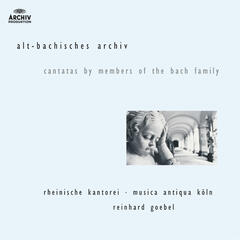 J.M. Bach, G.C. Bach,  J.C. Bach: Cantatas by members of the Bach family